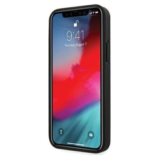iPhone 12 12 Pro umbris silikoonist Guess GUHCP12MPUILGBK 1