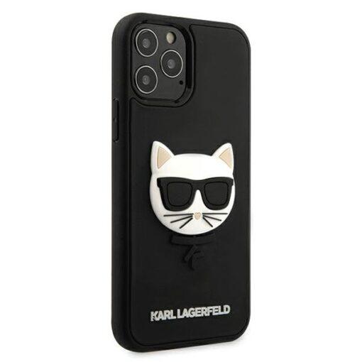 iPhone 12 12 Pro umbris silikoonist Karl Lagerfeld KLHCP12MCH3DBK 3