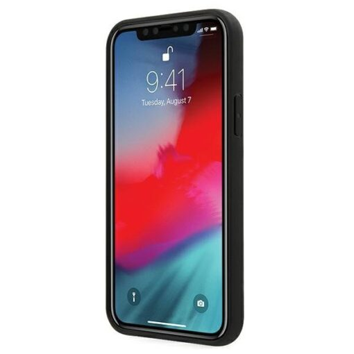 iPhone 12 12 Pro umbris silikoonist Karl Lagerfeld KLHCP12MCH3DBK 4