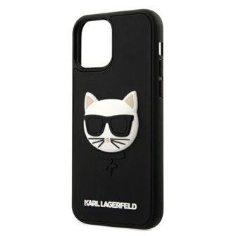 iPhone 12 12 Pro umbris silikoonist Karl Lagerfeld KLHCP12MCH3DBK 5