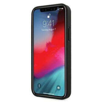 iPhone 12 12 Pro umbris silikoonist Karl Lagerfeld KLHCP12MIKMSBK 1