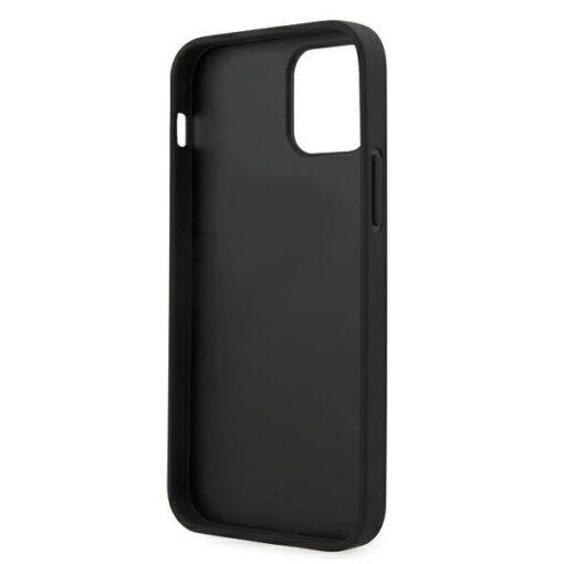 iPhone 12 12 Pro umbris silikoonist Karl Lagerfeld KLHCP12MIKMSBK 2