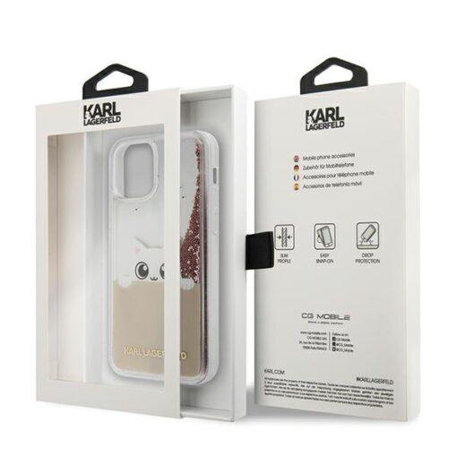 iPhone 12 12 Pro umbris silikoonist Karl Lagerfeld KLHCP12MPABGNU 3