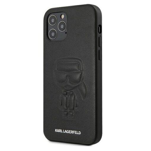 iPhone 12 12 Pro umbris silikoonist Karl Lagerfeld KLHCP12MPCUIKBK 1