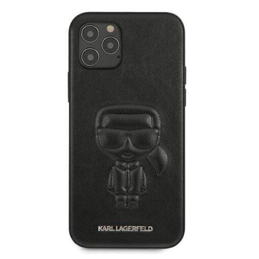 iPhone 12 12 Pro umbris silikoonist Karl Lagerfeld KLHCP12MPCUIKBK 2