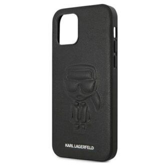 iPhone 12 12 Pro umbris silikoonist Karl Lagerfeld KLHCP12MPCUIKBK 5