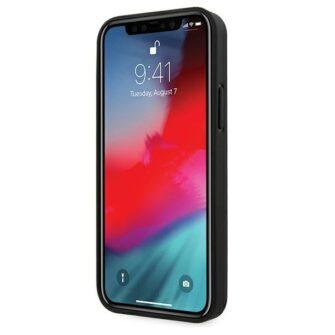 iPhone 12 12 Pro umbris silikoonist Karl Lagerfeld KLHCP12MSAKICKCBK 1