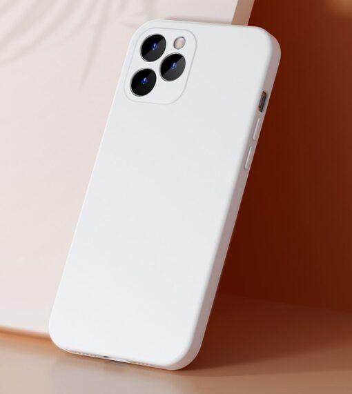 iPhone 12 Baseus Liquid Silica case umbris silikoonist punane WIAPIPH61N YT09 7