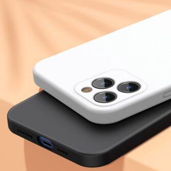 iPhone 12 Baseus Liquid Silica case umbris silikoonist punane WIAPIPH61N YT09 9
