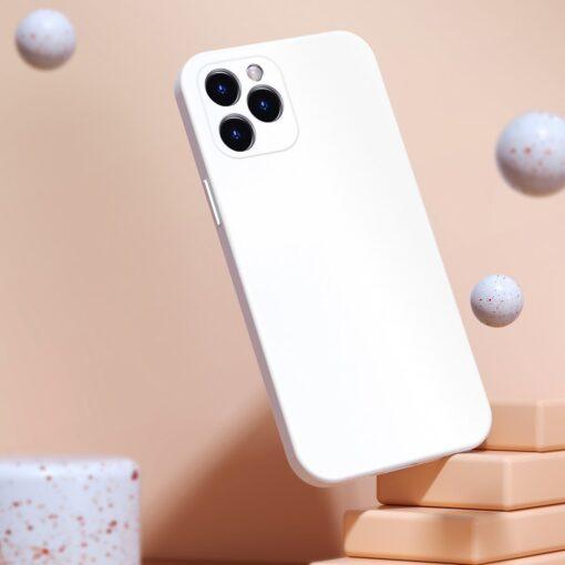 iPhone 12 Baseus Liquid Silica case umbris silikoonist tumeroheline WIAPIPH61N YT6B 3