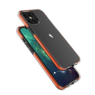 iPhone 12 Pro Max ümbris silikoonist läbipaistev musta raamiga 3