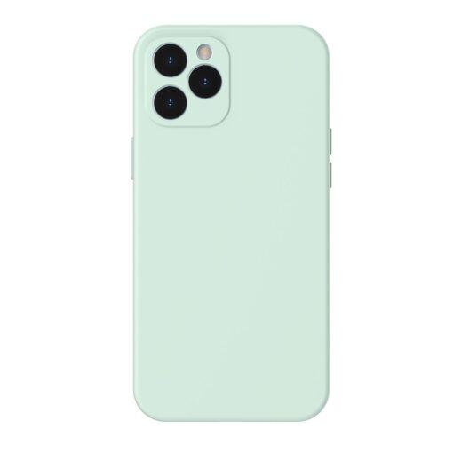 iPhone 12 Pro Max Baseus Liquid Silica case umbris silikoonist mundiroheline WIAPIPH67N YT6B