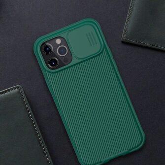 iPhone 12 Pro Max Nillkin CamShield Pro ümbris kaamera kaitsega must 16