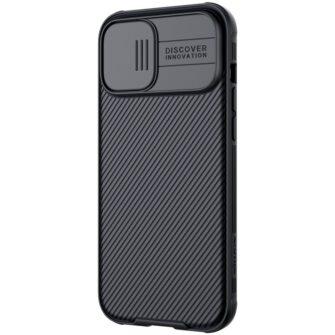 iPhone 12 Pro Max Nillkin CamShield Pro ümbris kaamera kaitsega must 2