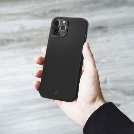 iPhone 12 Pro Max Spigen Cyrill ümbris silikoonist must 10