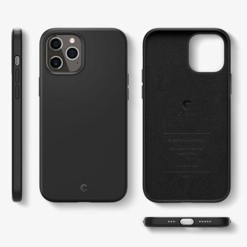 iPhone 12 Pro Max Spigen Cyrill ümbris silikoonist must 6
