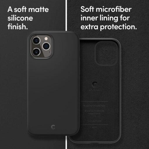 iPhone 12 Pro Max Spigen Cyrill ümbris silikoonist must 8