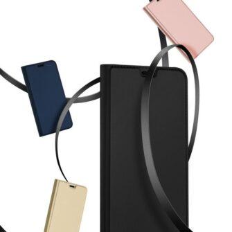 iPhone 12 Pro Max kaaned Dux Ducis Skin Pro Bookcase roosa 19