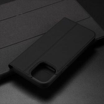 iPhone 12 Pro Max kaaned Dux Ducis Skin Pro Bookcase roosa 21