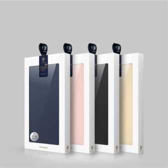 iPhone 12 Pro Max kaaned Dux Ducis Skin Pro Bookcase roosa 24