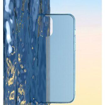 iPhone 12 Pro Max plastikust frosted umbris Baseus Frosted Glass Case sinine 9