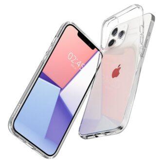 iPhone 12 Pro Max silikoonist kaaned Spigen Liquid Crystal Clear 6