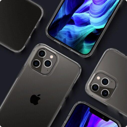 iPhone 12 Pro Max silikoonist kaaned Spigen Liquid Crystal Clear 7