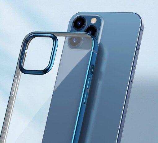 iPhone 12 Pro Max silikoonist umbris laikivate servadega Baseus Shining Case silikoonist hobe 11