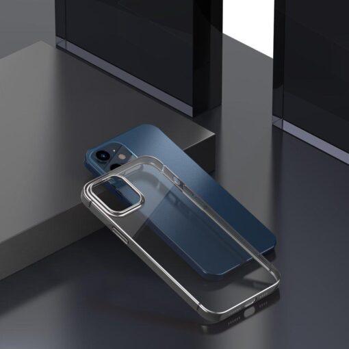 iPhone 12 Pro Max silikoonist umbris laikivate servadega Baseus Shining Case silikoonist hobe 5