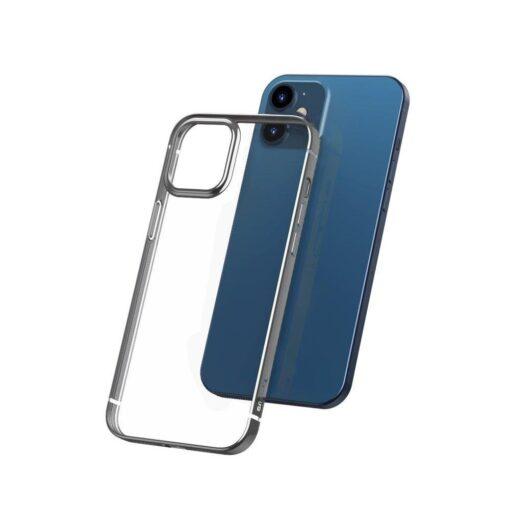 iPhone 12 Pro Max silikoonist umbris laikivate servadega Baseus Shining Case silikoonist hobe
