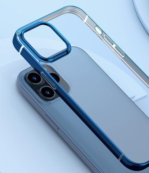 iPhone 12 Pro Max silikoonist umbris laikivate servadega Baseus Shining Case silikoonist hobe 7