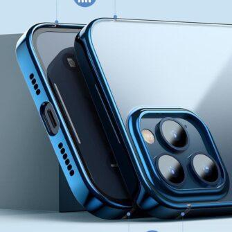 iPhone 12 Pro Max silikoonist umbris laikivate servadega Baseus Shining Case silikoonist hobe 8