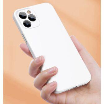 iPhone 12 mini Baseus Liquid Silica case umbris silikoonist must WIAPIPH54N YT01 10
