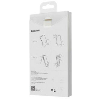 iPhone 12 mini Baseus Liquid Silica case umbris silikoonist must WIAPIPH54N YT01 5