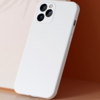 iPhone 12 mini Baseus Liquid Silica case umbris silikoonist must WIAPIPH54N YT01 7