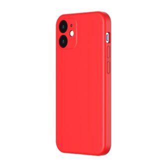 iPhone 12 mini Baseus Liquid Silica case umbris silikoonist punane WIAPIPH54N YT09 1