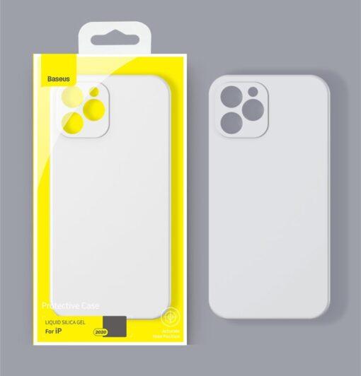 iPhone 12 mini Baseus Liquid Silica case umbris silikoonist punane WIAPIPH54N YT09 12