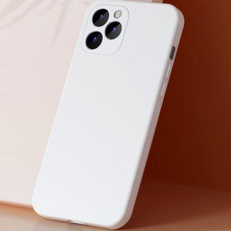 iPhone 12 mini Baseus Liquid Silica case umbris silikoonist punane WIAPIPH54N YT09 7