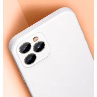 iPhone 12 mini Baseus Liquid Silica case umbris silikoonist punane WIAPIPH54N YT09 8