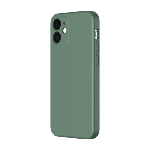 iPhone 12 mini Baseus Liquid Silica case umbris silikoonist tumeroheline WIAPIPH54N YT6A 1