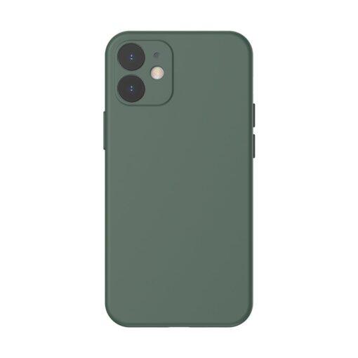 iPhone 12 mini Baseus Liquid Silica case umbris silikoonist tumeroheline WIAPIPH54N YT6A
