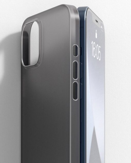 iPhone 12 mini Baseus Wing Case Ultrathin plastikust umbris must 11
