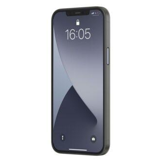 iPhone 12 mini Baseus Wing Case Ultrathin plastikust umbris must 2