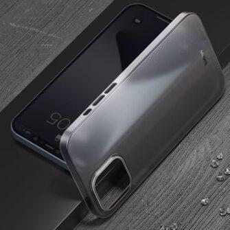 iPhone 12 mini Baseus Wing Case Ultrathin plastikust umbris must 6