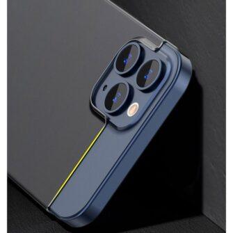 iPhone 12 mini Baseus Wing Case Ultrathin plastikust umbris must 9
