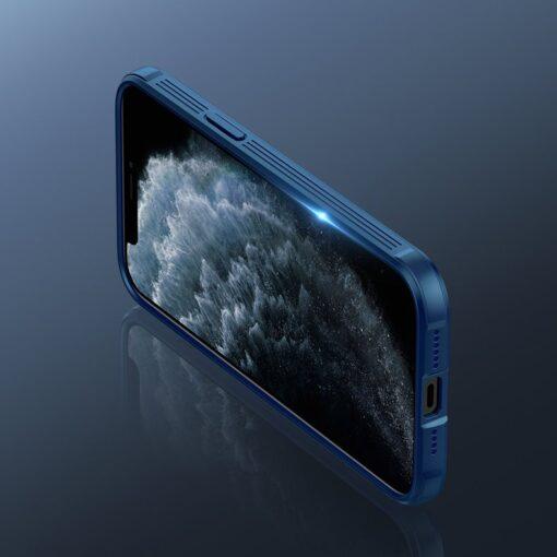 iPhone 12 mini Nillkin CamShield Pro ümbris kaamera kaitsega must 8
