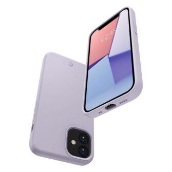 iPhone 12 mini Spigen Cyrill ümbris silikoonist lavendel 5
