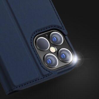 iPhone 12 mini kaaned Dux Ducis Skin Pro Bookcase kuldne 15