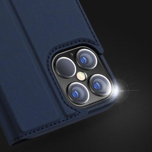 iPhone 12 mini kaaned Dux Ducis Skin Pro Bookcase roosa 15