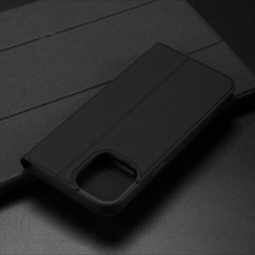 iPhone 12 mini kaaned Dux Ducis Skin Pro Bookcase roosa 21